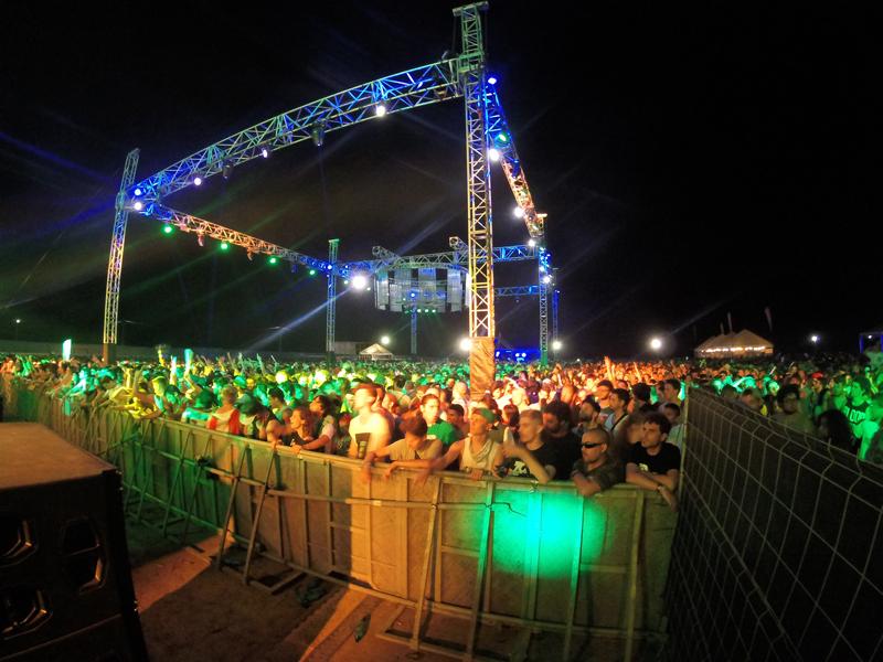 Dreambeach 2016 Air Stage