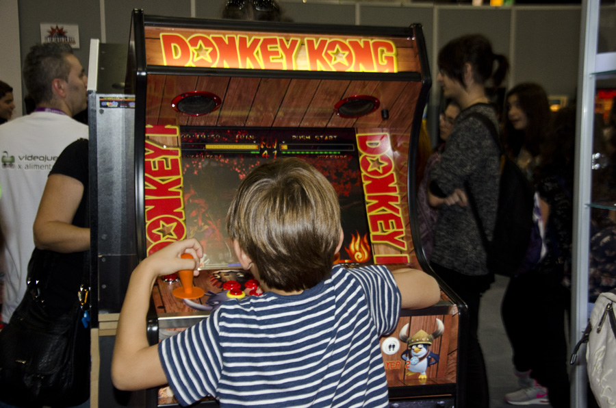 Madrid Gaming Experience 2016 Arcade