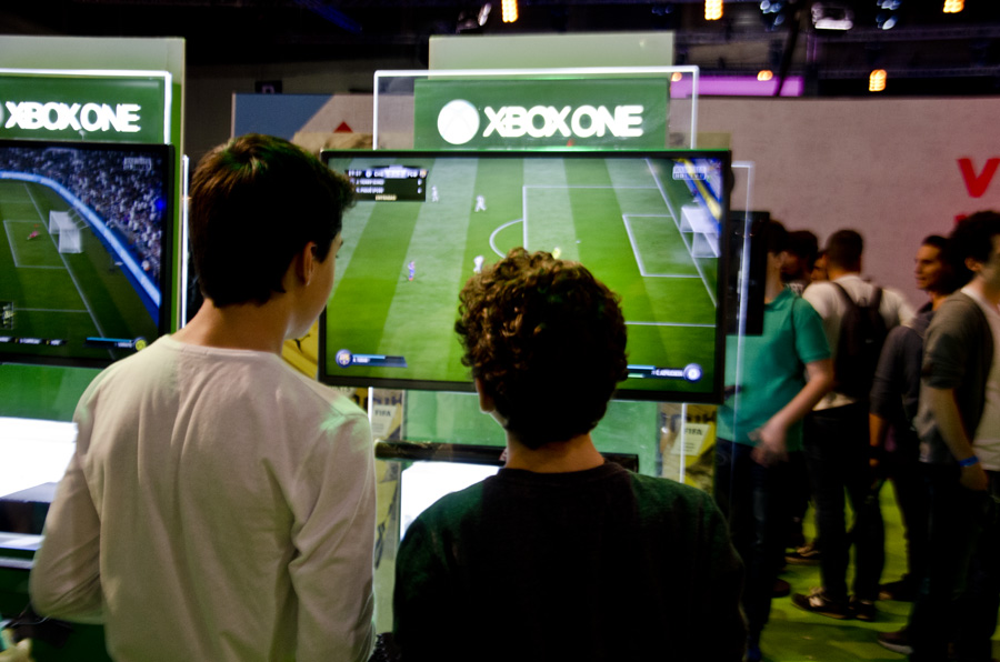 Madrid Gaming Experience 2016 Fifa 17