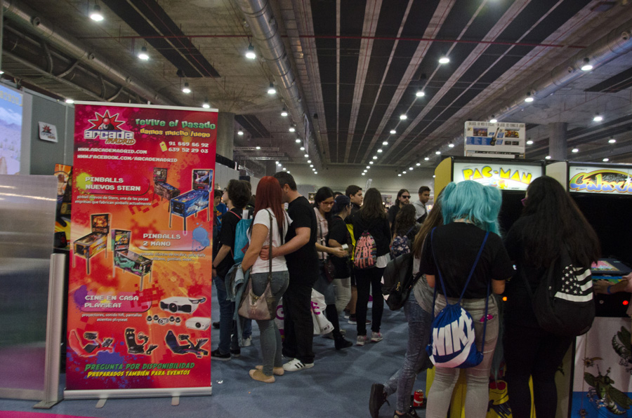 Madrid Gaming Experience 2016 Zona Arcade