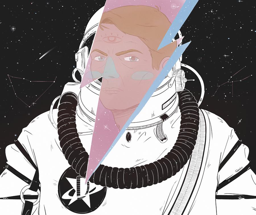 Starman, Dino Galvagno. Shit Mgazine
