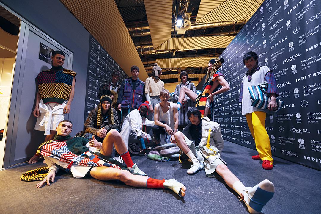 Casting de modelos de Rubearth en el Backstage